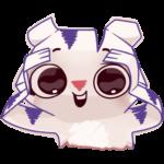 Бумажный тигр Руммка: cтикер №8