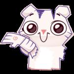 Бумажный тигр Руммка: cтикер №16