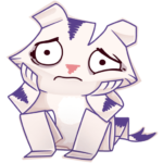 Бумажный тигр Руммка: cтикер №18