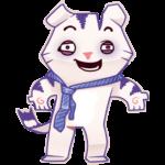 Бумажный тигр Руммка: cтикер №31