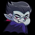 Граф Дракула: cтикер №2