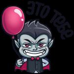 Граф Дракула: cтикер №11