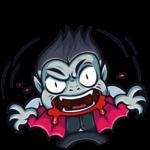 Граф Дракула: cтикер №29