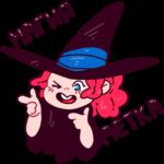 Имбирная ведьмочка: cтикер №2