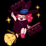 Имбирная ведьмочка: cтикер №12