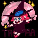 Имбирная ведьмочка: cтикер №13