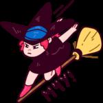 Имбирная ведьмочка: cтикер №29