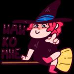 Имбирная ведьмочка: cтикер №30