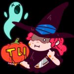 Имбирная ведьмочка: cтикер №32