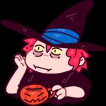 Имбирная ведьмочка: cтикер №39