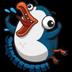 Пингвин Изи: cтикер №3