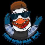Пингвин Изи: cтикер №4