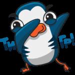 Пингвин Изи: cтикер №7