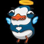 Пингвин Изи: cтикер №10