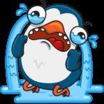 Пингвин Изи: cтикер №19