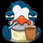 Пингвин Изи: cтикер №20