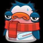 Пингвин Изи: cтикер №27
