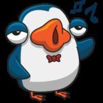 Пингвин Изи: cтикер №29