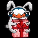 Пингвин Изи: cтикер №30
