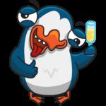 Пингвин Изи: cтикер №31