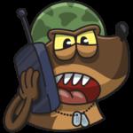 Сержант Пёс: cтикер №38