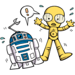 Звёздные войны: cтикер №22