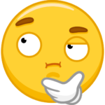 Emoji-стикеры: cтикер №25