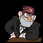 Дядя Стэн из Гравити Фолз: cтикер №13