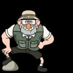 Дядя Стэн из Гравити Фолз: cтикер №24