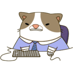 Офисный кот: cтикер №10