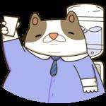 Офисный кот: cтикер №21