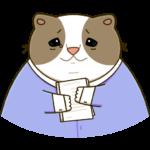 Офисный кот: cтикер №25