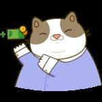 Офисный кот: cтикер №31