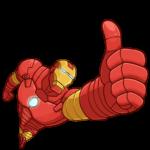 Железный Человек: cтикер №4