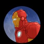 Железный Человек: cтикер №6