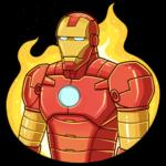 Железный Человек: cтикер №7