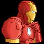 Железный Человек: cтикер №8