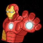 Железный Человек: cтикер №9
