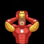 Железный Человек: cтикер №11