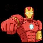 Железный Человек: cтикер №12
