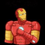 Железный Человек: cтикер №13