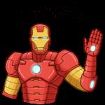 Железный Человек: cтикер №14