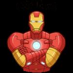 Железный Человек: cтикер №15