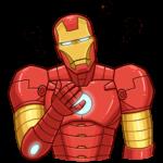 Железный Человек: cтикер №17