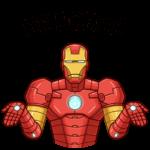 Железный Человек: cтикер №18