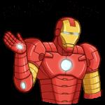 Железный Человек: cтикер №19