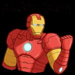 Железный Человек: cтикер №21