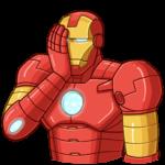 Железный Человек: cтикер №23