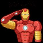 Железный Человек: cтикер №25
