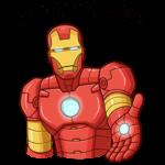 Железный Человек: cтикер №26